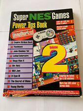Classic 90's SNES cheat Book Collectable