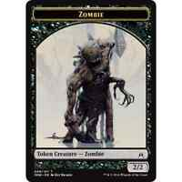 2x MTG Zombie Token (Kalitas, Traitor of Ghet) NM - Oath of the Gatewatch