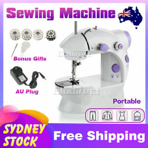 Mini Sewing Stitch Machine Electric Desktop Portable LED Handheld Kit Cordless