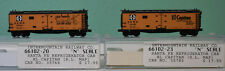 Intermountain #66102 - N Scale - Set of 2 Santa Fe EL Capitan Refrigerator Cars