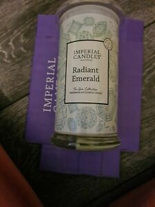 Imperial Candles Radiant Emerald Surprise Hidden Jewel Candle - Ring size R/S
