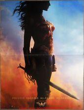 WONDER WOMAN Affiche Cinéma Movie Poster 53x40 Gal Gadot