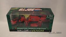 GI Joe Valor vs Venom Operation Crimson Sabotage MISB Sealed HISS Tank ASP