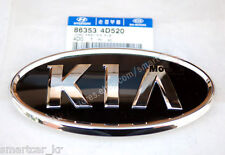 Front grille KIA logo emblem badge for 2011 2012 KIA Sportage