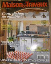 Maisons et travaux N° 255 2014 Cuisine Vasque Rangement Isolation des combles