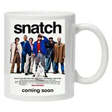 More details for snatch classic movie personalised printed coffee tea drinks mug cup gift