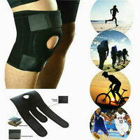 One Adjustable Knee Patella Support Brace Sleeve Wrap Cap Stabilizer Sport ~