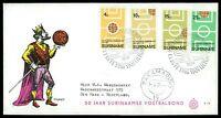 SURINAME FDC 1970 FUßBALL FOOTBALL FUTBOL SOCCER CHINA-FOENG bv44
