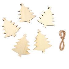 10 x Madera Árboles de Navidad,Etiquetas Decoración De Boda Adorno Forma