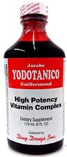 Yodotanico High Potency Vitamin Complex Iodine Dietary Supplement