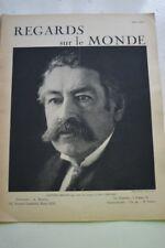 REGARDS SUR LE MONDE N°3 1932 BRIAND FRERES WRIGHT ELECTIONS FRANCAISES ART
