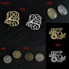 Vintage Bronze Womens Men Norse Nordic Viking Amulet Charm Pins Brooches Jewelry
