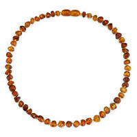 GENUINE BALTIC AMBER BEADS NECKLACE OR BRACELET ANKLET, 14-35CM, 10 COLORS
