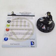 Heroclix War of Light set Black Lantern Reanimate #008 Common figure w/card!