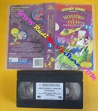 VHS film SILVESTRO E TITTI DETECTIVES 1 Pazzi dallo spazio LOONEY (F142) no dvd