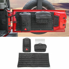 Tailgate Cover Storage Bag & Tool Kit Organizer Pockets For 2007-2017 Wrangler