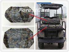 Realtree Camo Back Flip Rear Seat Covers & Backrest, Bad Boy Buggies 616499