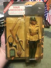 Lion Rock military action figure 1975 mego gi joe japan soldier On Card