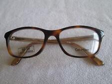 Calvin Klein brown tortoiseshell / gold glasses frames. CK 7926.