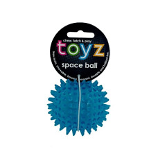 Petface Dog Toy Toyz Space Ball -small Blue