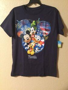 Disney Mickey Mouse & Friends T Shirt Blue Color Size XL(15/17)