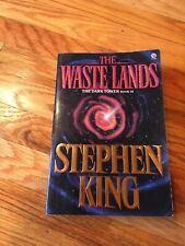 THE WASTE LANDS STEPHEN KING BOOK 1ST PLUME PRINTING DARK TOWER