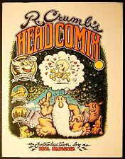 R. CRUMB'S HEAD COMIX - Viking Hardbound edition - High grade - Rare!!