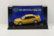 SUBARU LEGACY B4 1999 GOLD AUTOART 1/43 NEUVE EN BOITE