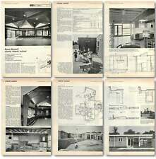1961 Eyres Monsell Infants School, Outside Leicester Design, Plans