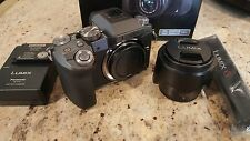 Panasonic Lumix DMC-G7 16MP 4K Mirrorless Camera SILVER w/ LUMIX G 14-42mm Lens