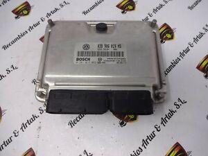 Centralita del motor  SKODA Fabia 038906019NS 0281013082
