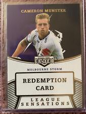 2020 NRL Elite League Sensations Teams Cameron Munster Melbourne Storm 14/20 🔥