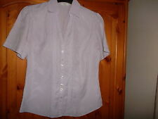 Marks and Spencer Women's No Pattern V Neck Tops & Shirts