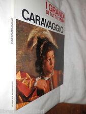 CARAVAGGIO Mario Lepore Periodici Mondadori 1966 i grandi di tutti i tempi libro