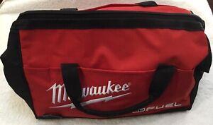 "New Milwaukee Fuel M18 16""  Heavy Duty Contractors Tool Bag 16"" x 10"" x 11"""