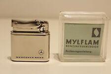 "VINTAGE RARE GERMANY ADVERTISING MERCEDES-BENZ CIGAR PETROL LIGHTER""MYFLAME"""