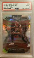 2019 Panini Select #40 Concourse Silver Deandre Hunter RC PSA 9 Atlanta Hawks
