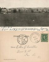 REAMSTOWN PA VIEW FROM ROOT'S PARK ANTIQUE 1906 UNDIVIDED POSTCARD