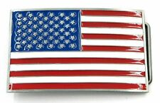 Metal Belt Buckle … Usa Country American National Flag