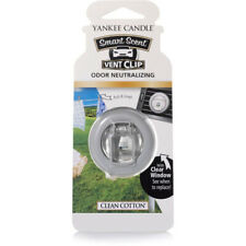 1304391E Smart Scent Vent Clip Clean Cotton Air Freshener By Yankee Candle