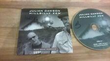 CD Blues Julian Dawson G Parsons - Hillbilly Zen (15 Song) Promo BLUE ROSE cb