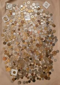 15lbs Of International Coins (Lot)
