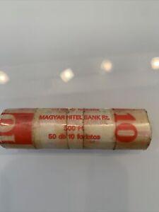 Münze Ungarn 10 Forint eine Rolle 50 Münzen