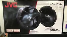 "JVC CS-J620 300 Watt 6-1/2"" CS Series 2-Way Coaxial Car Speakers BRAND NEW LOW $"