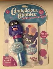 Candylicious Bubbles Bubbles You Can Eat Grape Flavor 0.67 oz