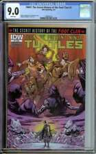 Tmnt: The Secret History Of The Foot Clan #3 Cgc 9.0 White Pages