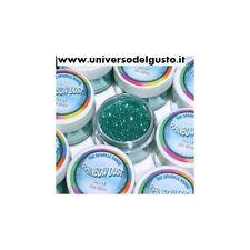 COLORANTE GLITTER IN POLVERE ICE BLUE (VERDE AZZURRO/TIFFANY) 5 GR - RAINBOWDUST