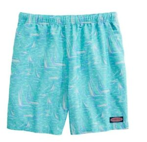 Vineyard Vines Boy's Sailing Chappy Swim Trunks Medium New With Tags Nwt