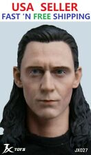 "1/6 Loki Head Sculpt 4.0 Thor Avengers For 12"" Hot Toys Worldbox Figure Doll"