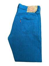 Original Levi's 501® Classic Straight Leg Legion Blue Denim Jeans W36 L32 ES6847